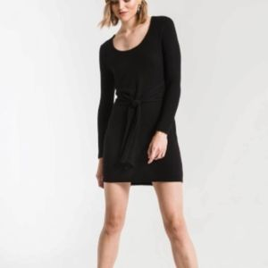 Z SUPPLY THE MARLED WRAP FRONT DRESS